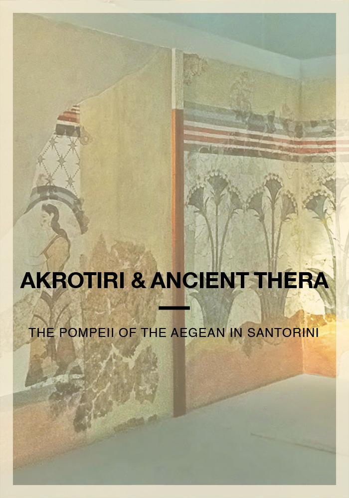 Akrotiri and ancient thera