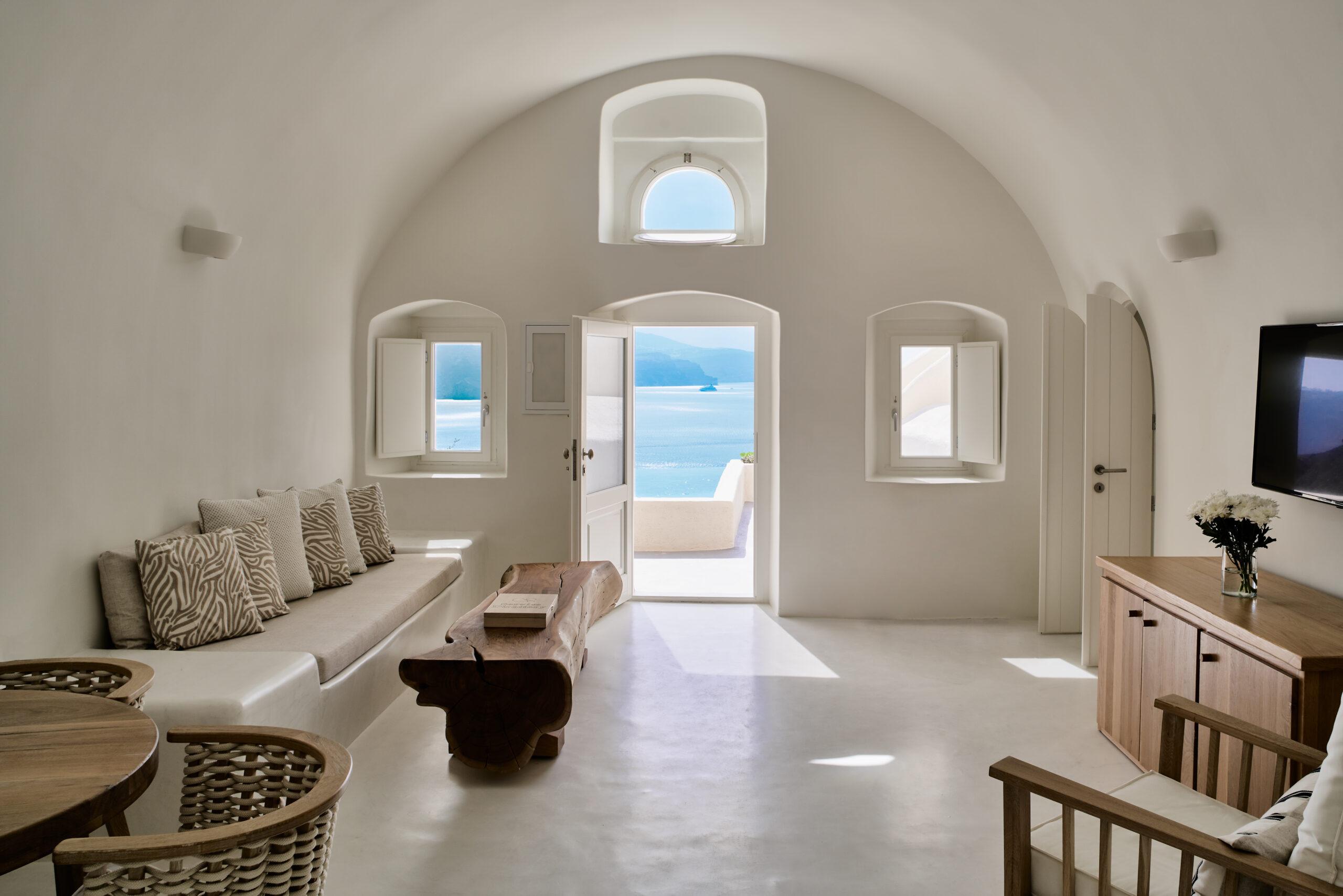 Interior space from Mystique's All 2 Senses Suite