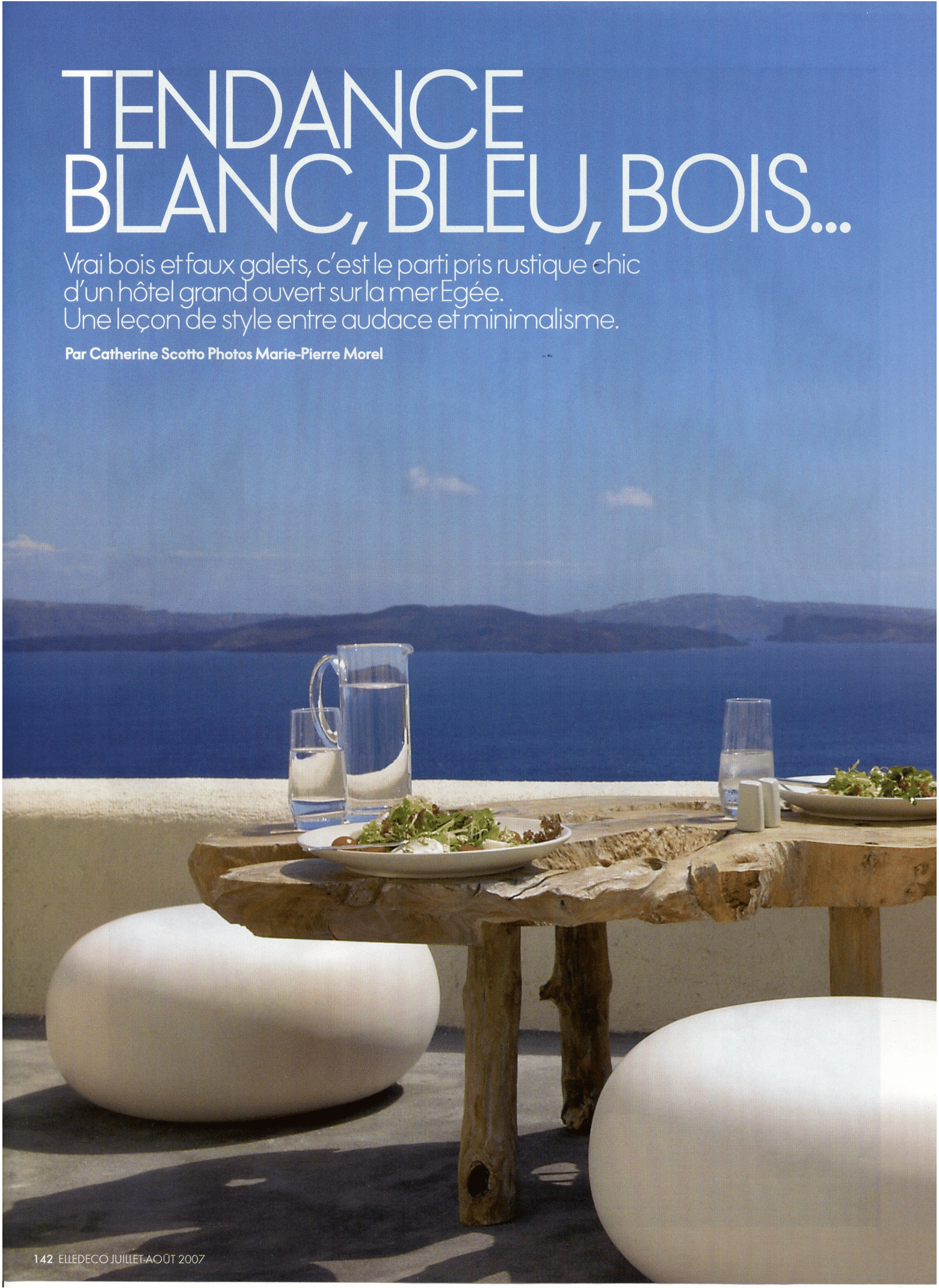 Elle Déco – July/August 2007