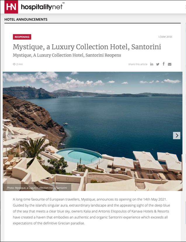 Hospitality Net – June 2021
